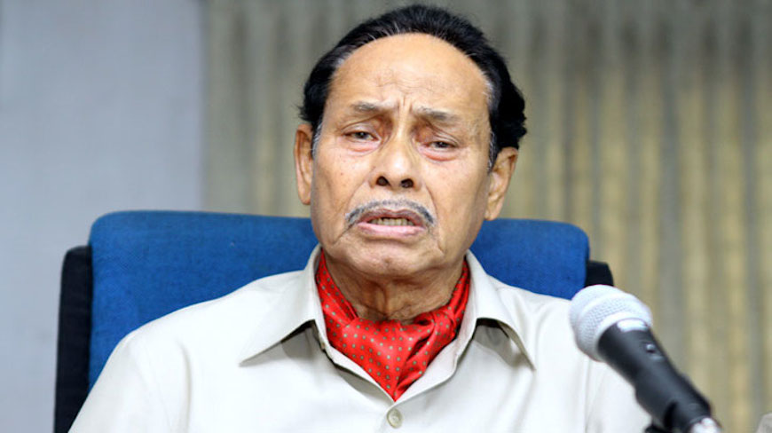Ershad off to Singapore for treatment