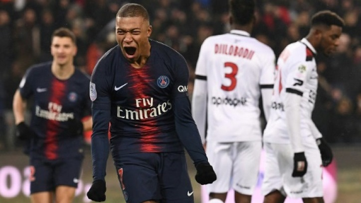 PSG claim record home win with 9-0 thrashing of Guingamp