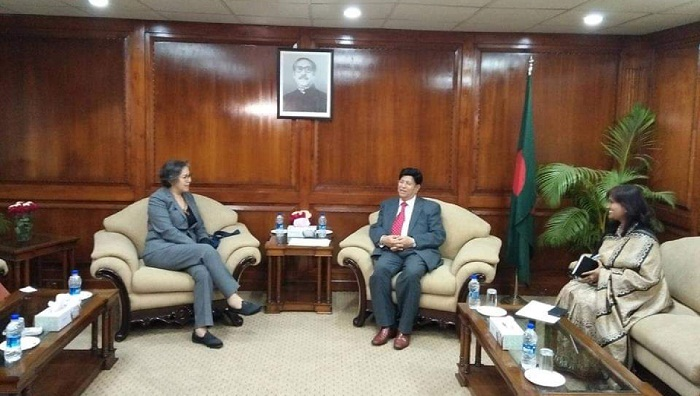 UN expert Lee discusses Rohingya issue with Foreign Minister Momen
