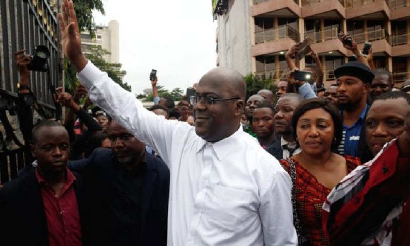 DR Congo court upholds Tshisekedi presidential election win