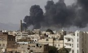 Saudi-led coalition launches airstrikes in Yemen's capital