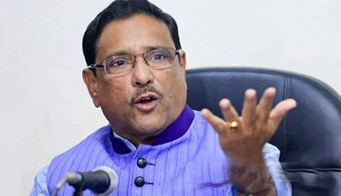 Quader asks UN where actually perfect election is held