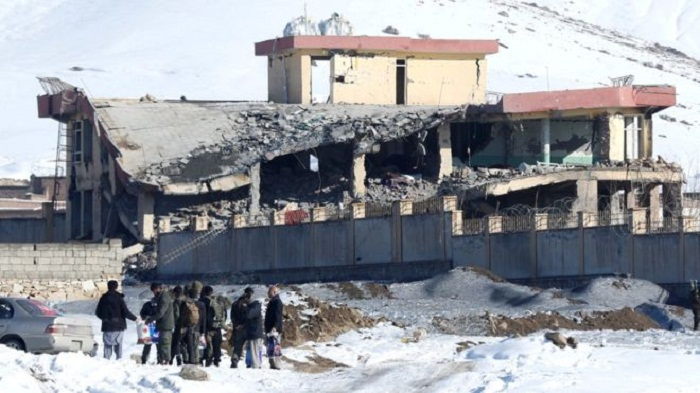 Taliban attack on Afghan military compound leaves 20 dead