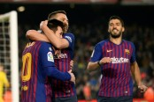 Dembele sparkles but Messi needed off bench to rescue Barca