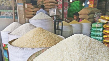Rice price sees falls sharply in city market