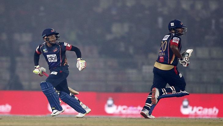 Comilla post 153 against Dhaka as Shakib takes 100th BPL wicket