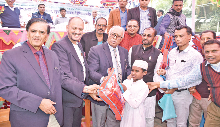 BIFPCL distributes blankets in Rampal
