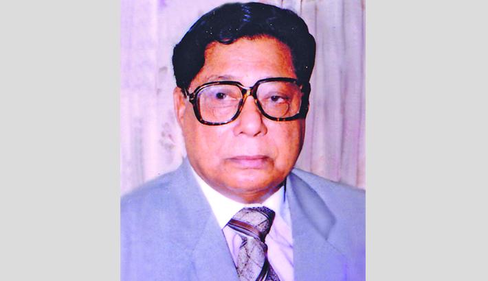 Death anniv  of ex-minister  Shamsul Islam today