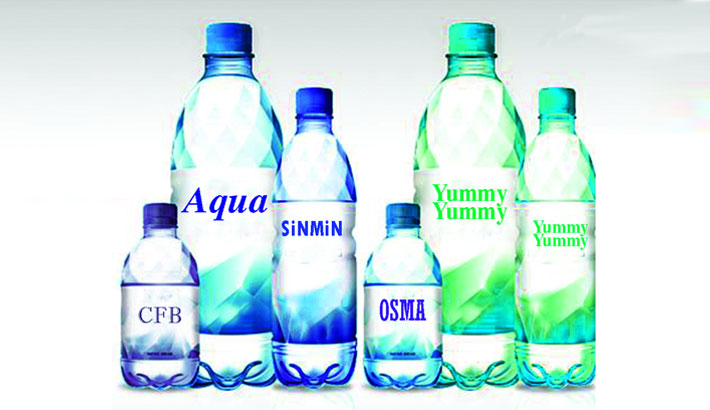 Bottled water of five cos unsafe: BSTI