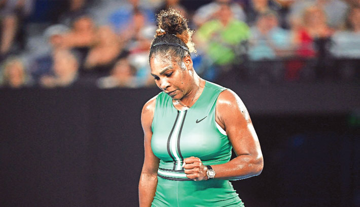 Serena muscles past into Open quarters