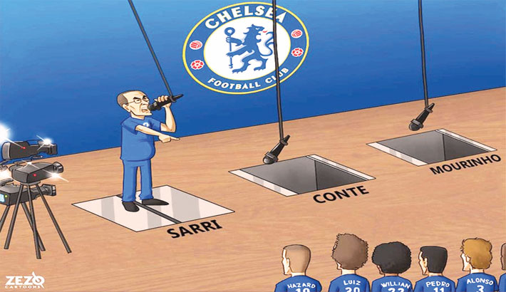 Chelsea Boss Blasts His Players