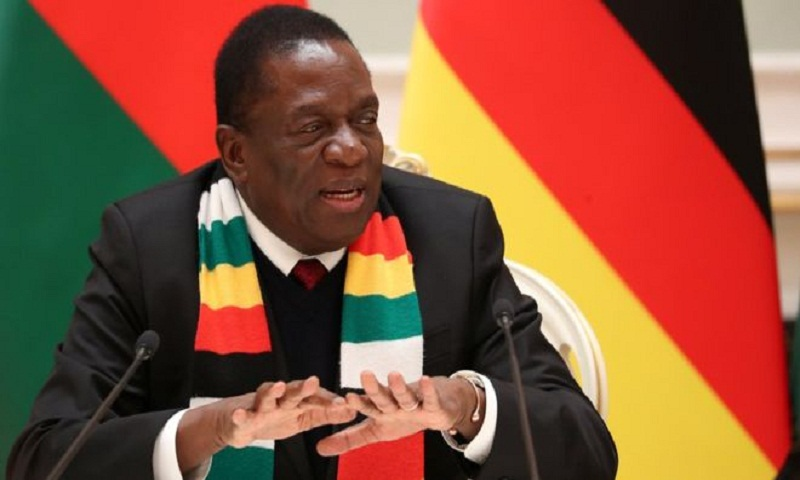 Zimbabwe president abandons Davos trip amid unrest