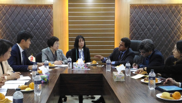 KOICA keen to improve Bangladesh's traffic system