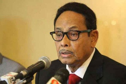 Health condition of HM Ershad is well now