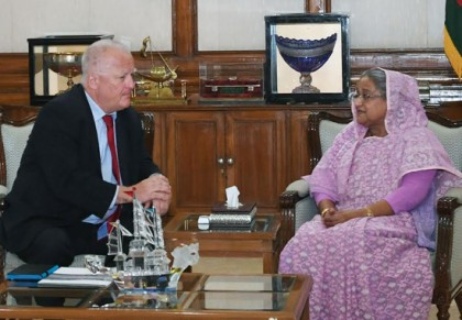 Democracy and development will go together, PM tells German envoy