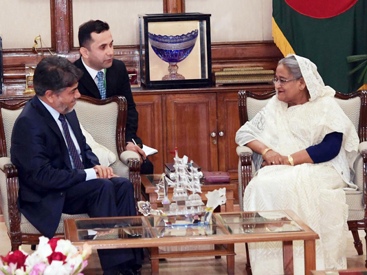 Afghan envoy requests Prime Minister to reopen Bangladesh mission in Kabul