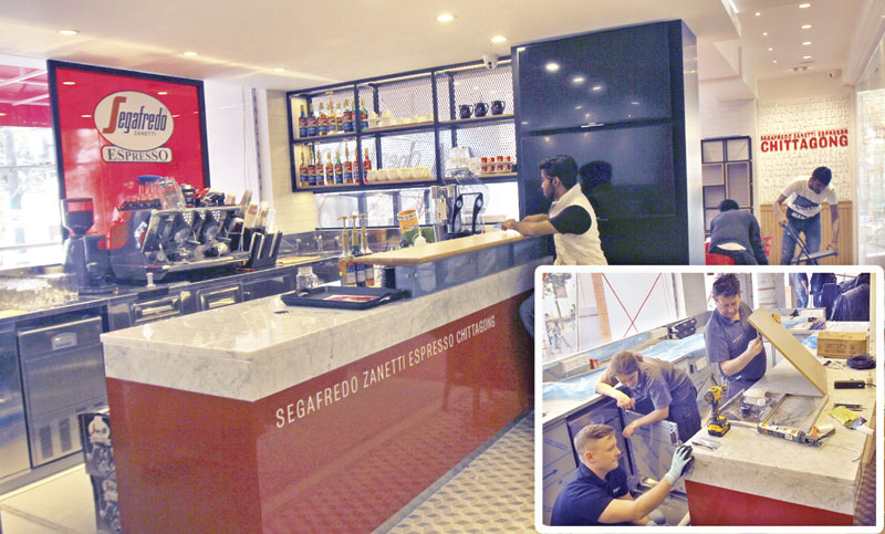 Ctg gets Italian coffee franchisee soon
