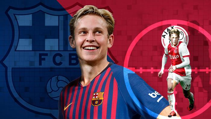 Barcelona sign De Jong from Ajax for 75 million euros