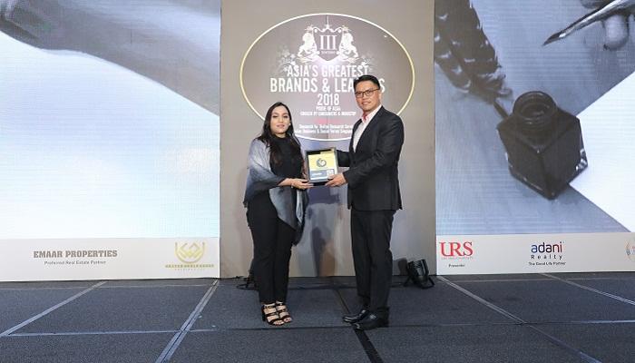 Yeasha Sobhan wins award from Singapore