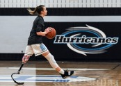 She had her leg amputated and 14 rounds of chemo by age 3 — now she plays varsity basketball