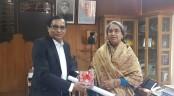 BSMRDU VC Munaz calls on Education Minister