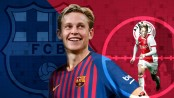 Barcelona sign De Jong from Ajax for 75 million euros