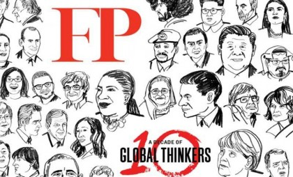 Prime Minister Sheikh Hasina among top 10 global thinkers in Defence and Security