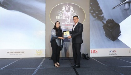 Yeasha Sobhan wins award from Singapore