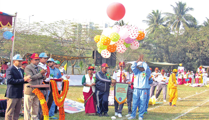BSISC inter-house annual sports competition held