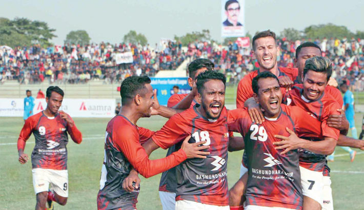 Bashundhara Kings blast Abahani 3-0