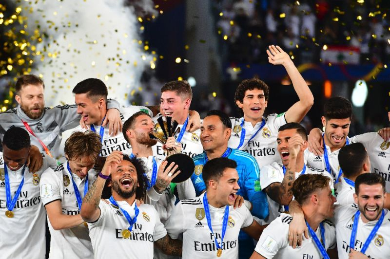 Real Madrid take top spot from Man United in 'money league'