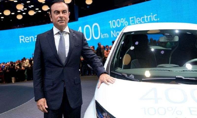 Carlos Ghosn 'resigns from Renault'