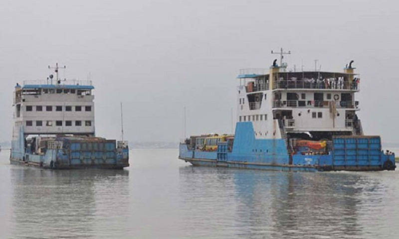 Ferry services resume on Shimulia-Kathalbari route