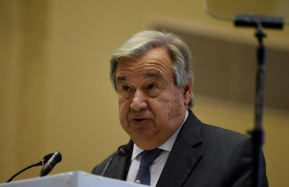 UN chief warns 'we are losing the race' on climate change