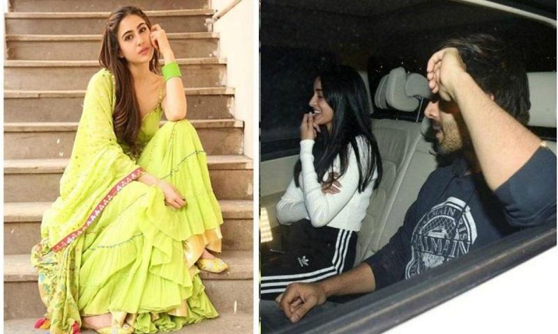 Sara Ali Khan reacts to Kartik Aaryan-Ananya Panday rumours