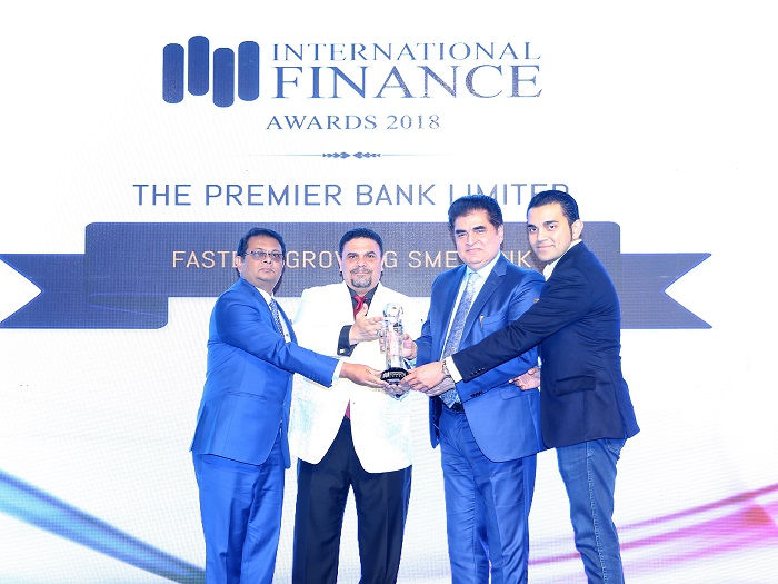 Premier Bank wins 'Fastest Growing SME Bank' award