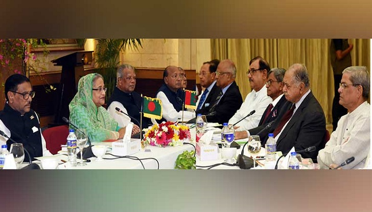 Oikya Front turns down invitation of PM's tea-party