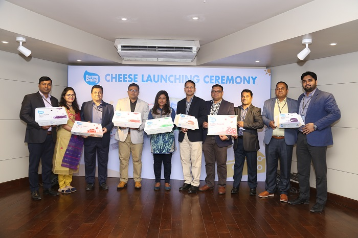 Aarong Dairy introduces 5 variants of Cheese in the market