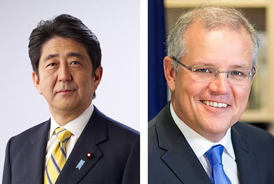 Prime Ministers of Japan and Australia greet Sheikh Hasina