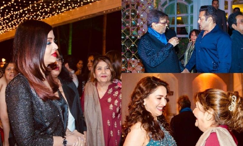 Aishwarya Rai, Salman Khan join the party as Subhash Ghai turns 74