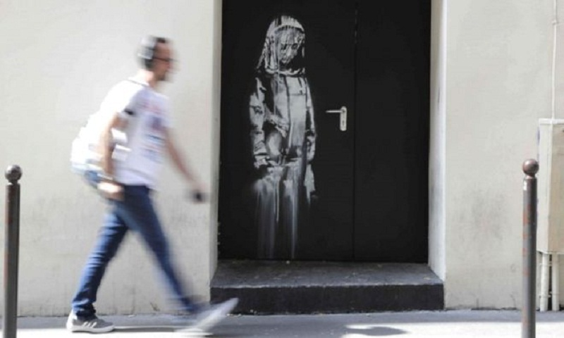 Banksy tribute to Bataclan terror victims stolen in Paris