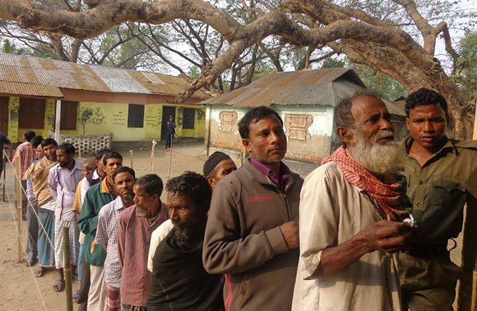 Election of Gaibandha-3 constituency ends peacefully