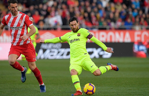 Messi shines as Barca sweep past Girona
