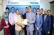 BRAC Bank signs Agreement with Bishwo Infra Projects