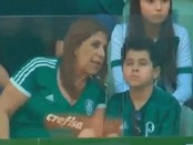 """Goooal!"": Brazil mother narrates games for visually impaired son"