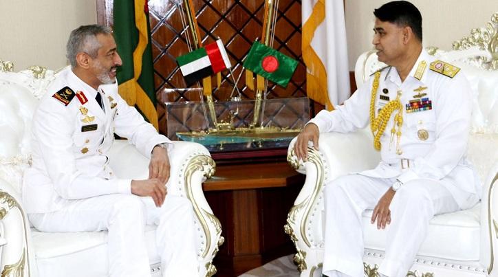 UAE naval chief calls on Bangladesh air chief