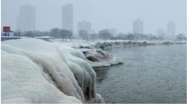Deadly polar vortex hits swathes of USA