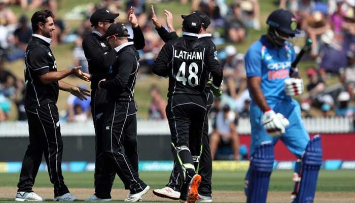 India all out for 92 in 4th New Zealand ODI