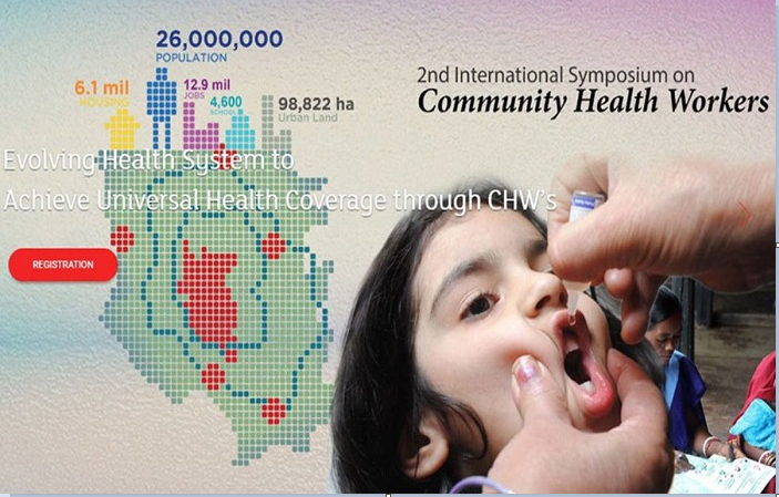 2nd Int'l symposium on community health workers in city on Nov 22-24