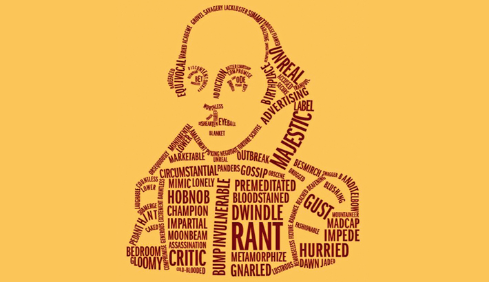 30 words invented by Shakespeare